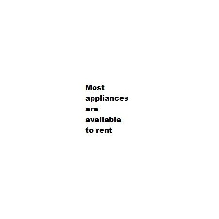 Most Appliances available to Rent
