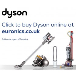 All Dyson products available to order direct through our Euronics Partners