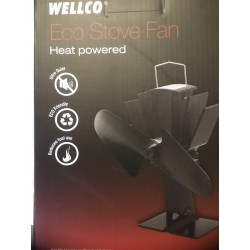 WELLCO Heat Powered Stove Fan (5045382683286